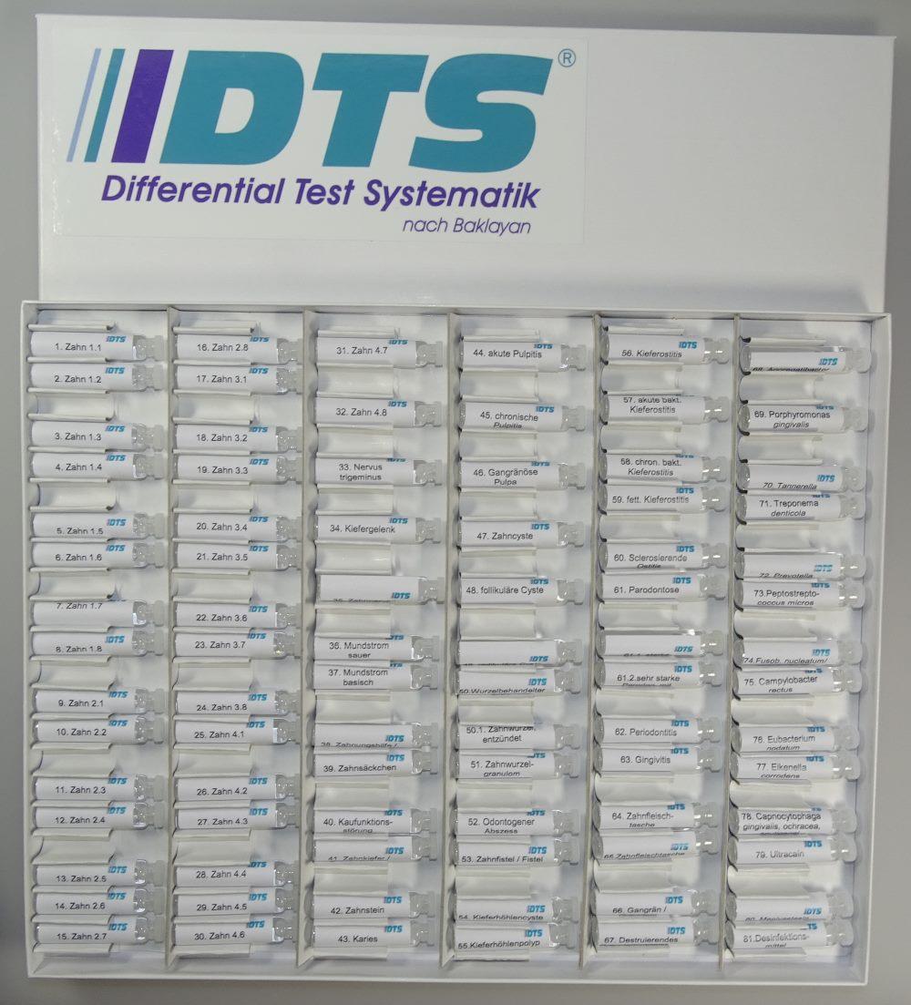 DTS Testkasten nach Baklayan